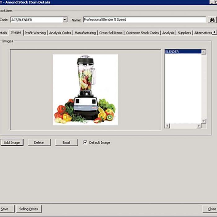 Enhance Sage 200 Plus Pack for Sage 200 Stock Images Eureka Addons