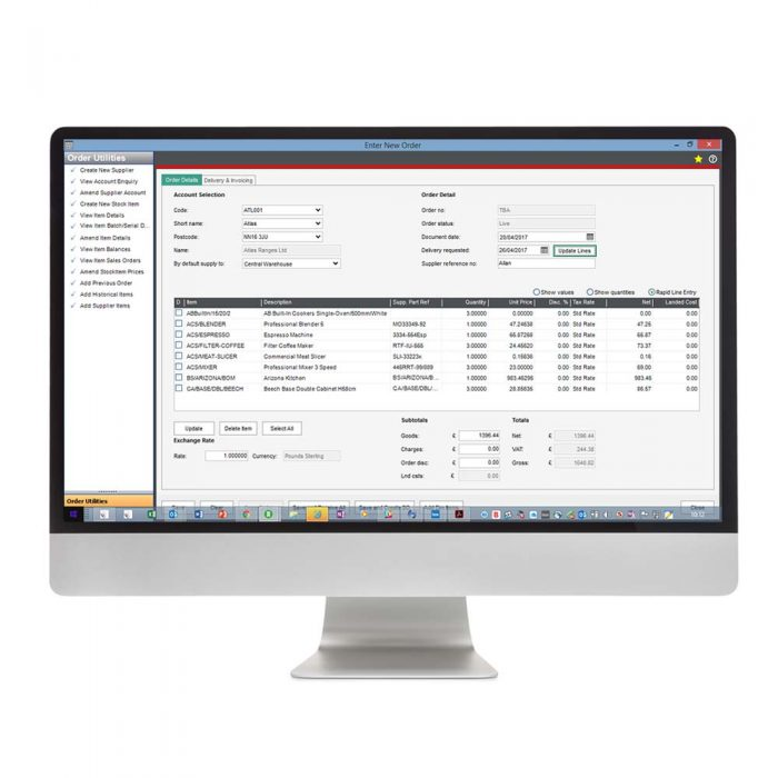 Purchase Order Plus for Sage 200 Eureka Addons